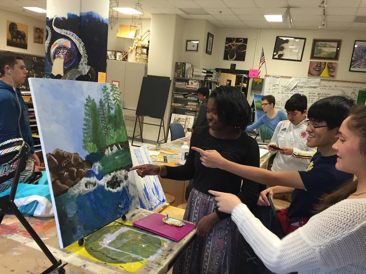 The Art Honor Societies of RM