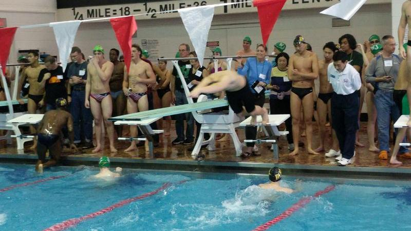 RM swim and dive suffers loss to WJ Wildcats