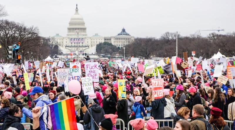 My experience as a male attending the Women's March on Washington