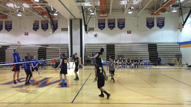 Boys volleyball beats Werewolves 3-0 in first away game of season