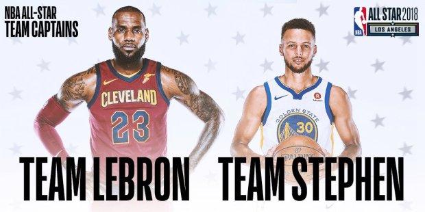 Team LeBron vs. Team Stephen?