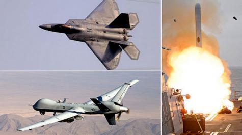 Trump launches air strikes on Syria