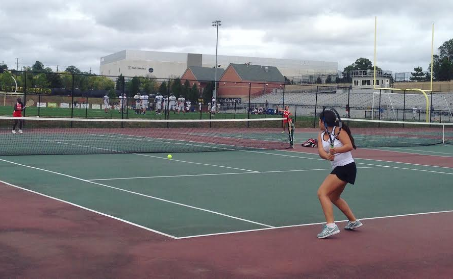 Rockets tennis dominates Blair, secures second 7-0 victory of the season