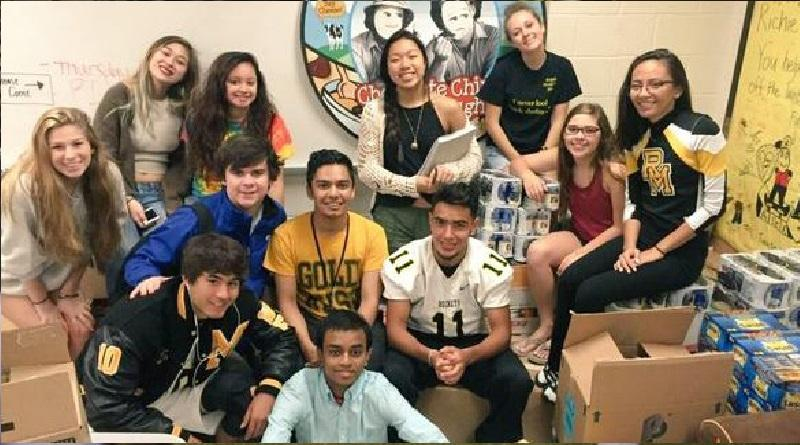 Mr. Thomas' class wins canned food drive, but RM's overall success decreases
