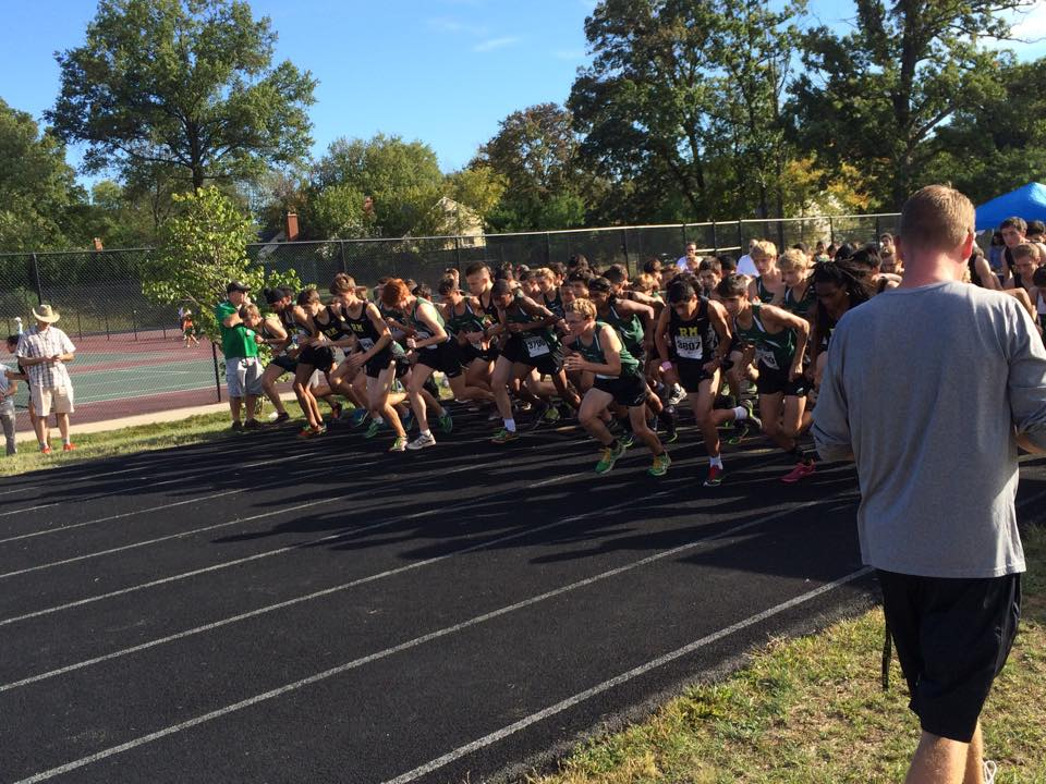 Cross country narrowly defeated by Walter Johnson in final home meet