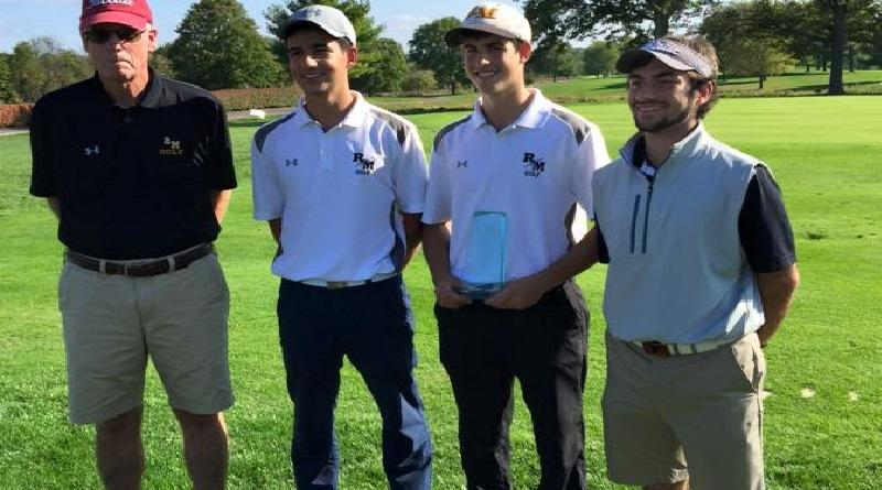 RM golf team ends season with 16-2 record