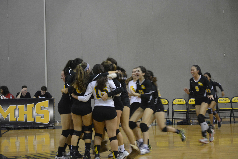 Photo Gallery: Girls Volleyball v Walter Johnson