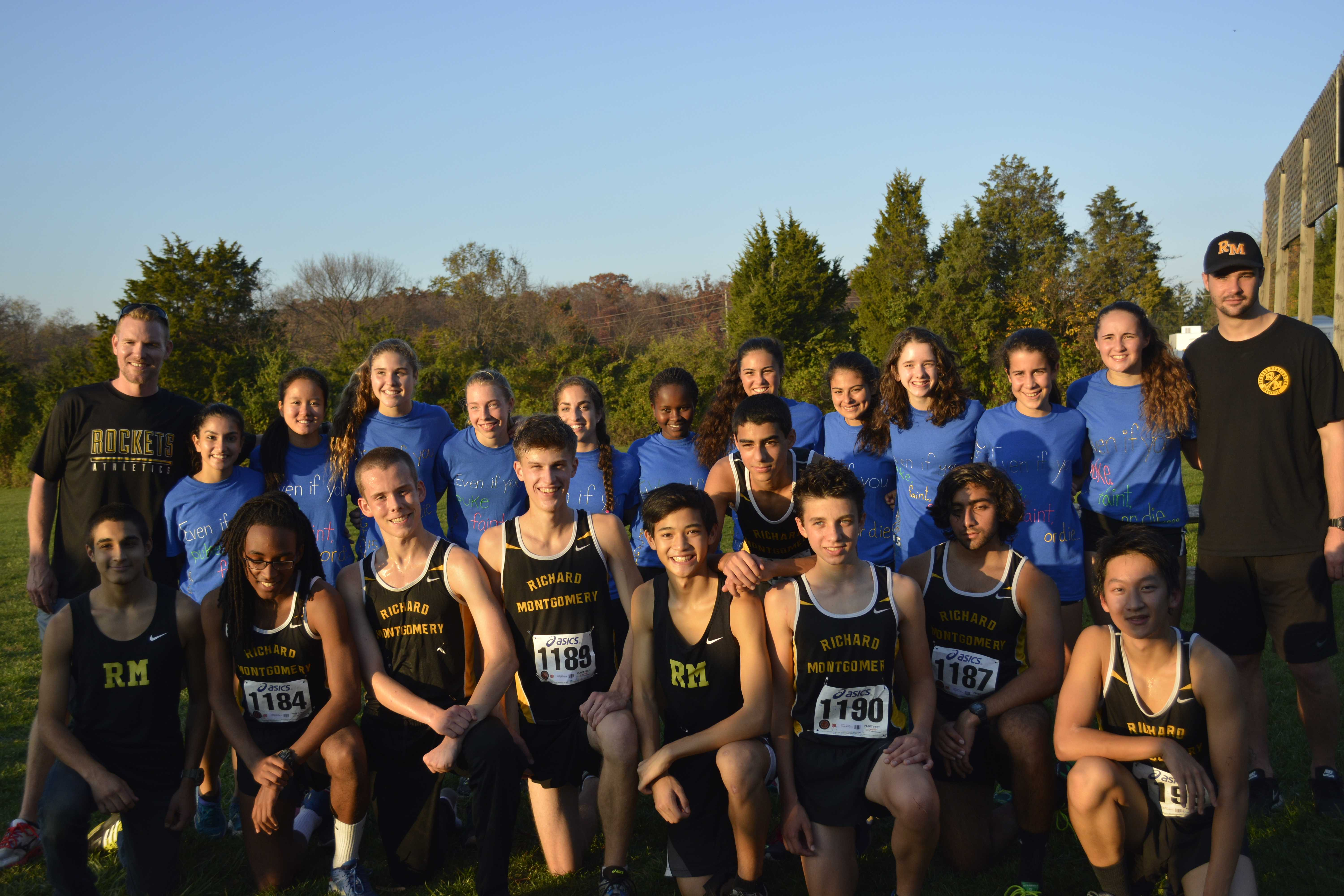 RM cross country finishes strong at Regionals meet