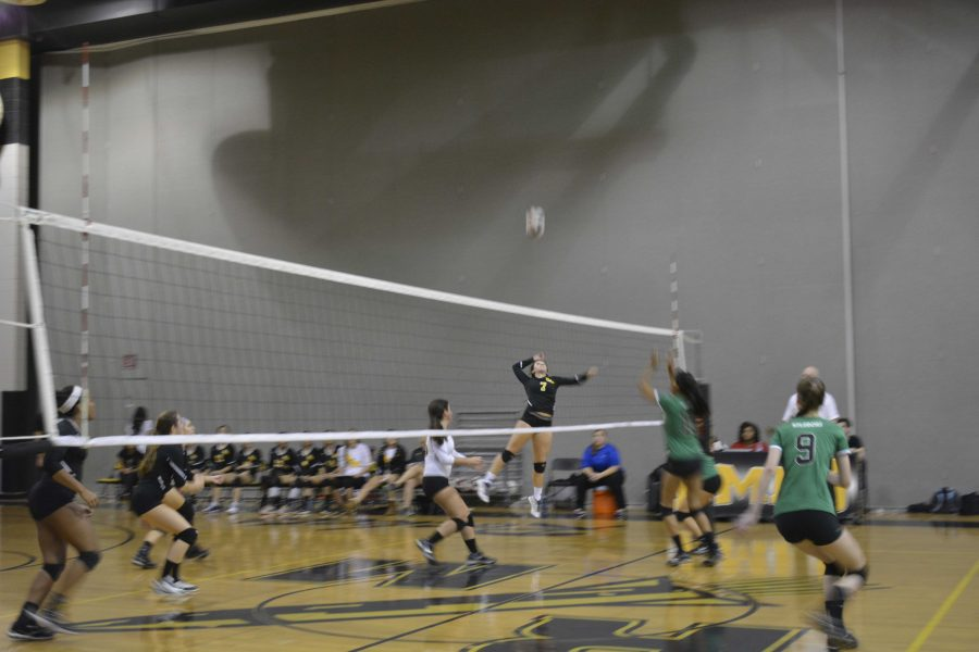 Volleyball moves on in playoffs after victory over Walter Johnson