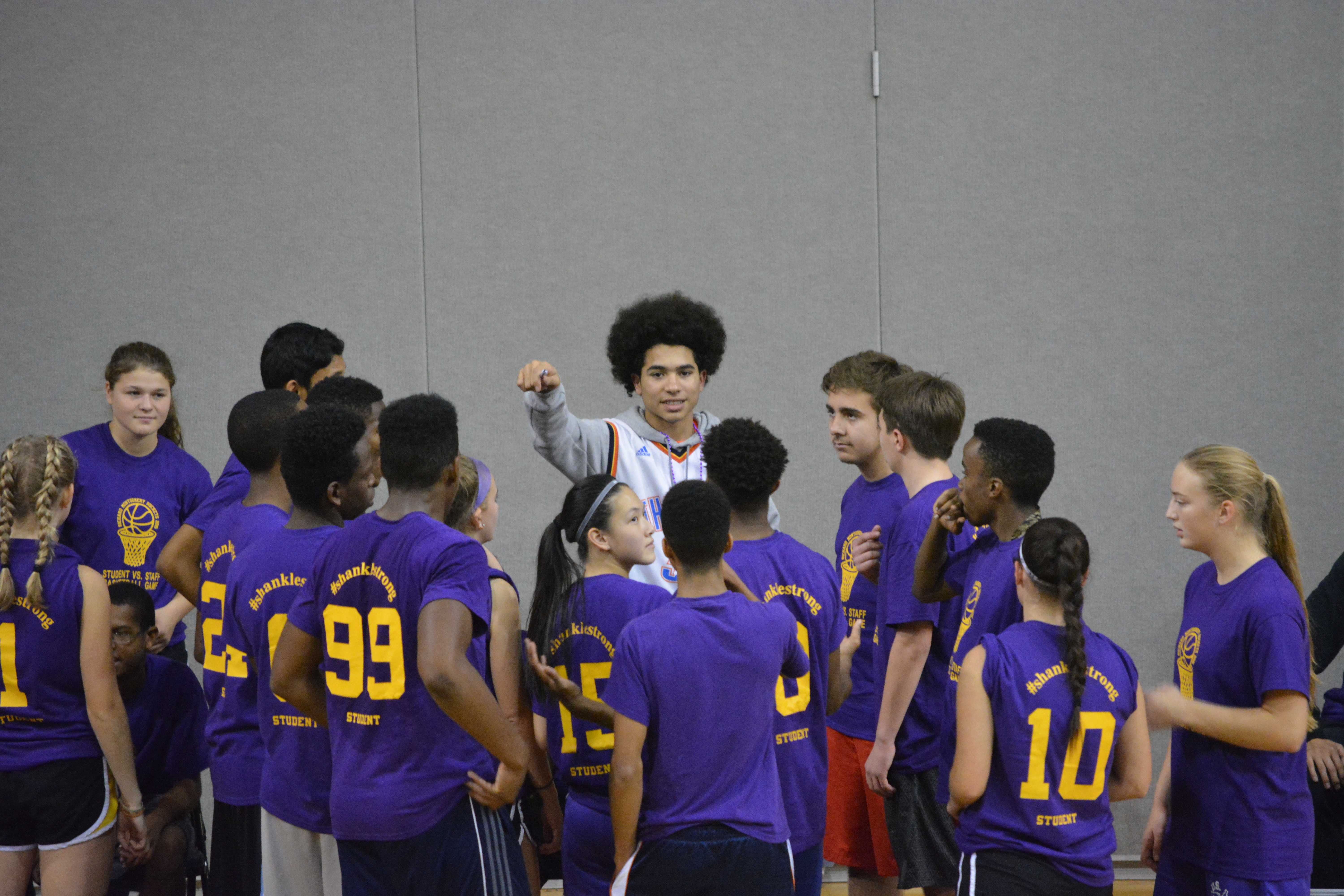 Photo Gallery: Student Staff Basketball Game