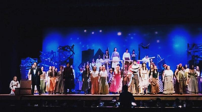 Les Miserables comes to an end after four highly successful performances