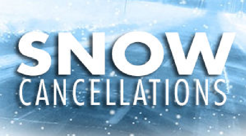 Local cancellations and related news