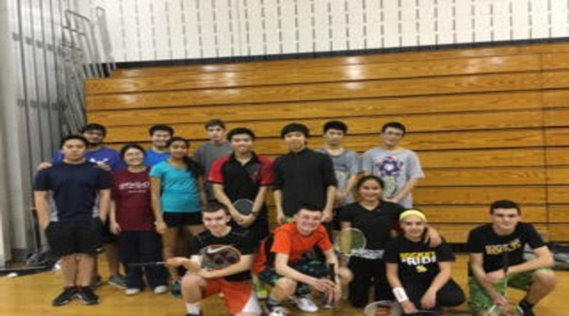 RM badminton club keeps students entertained and active