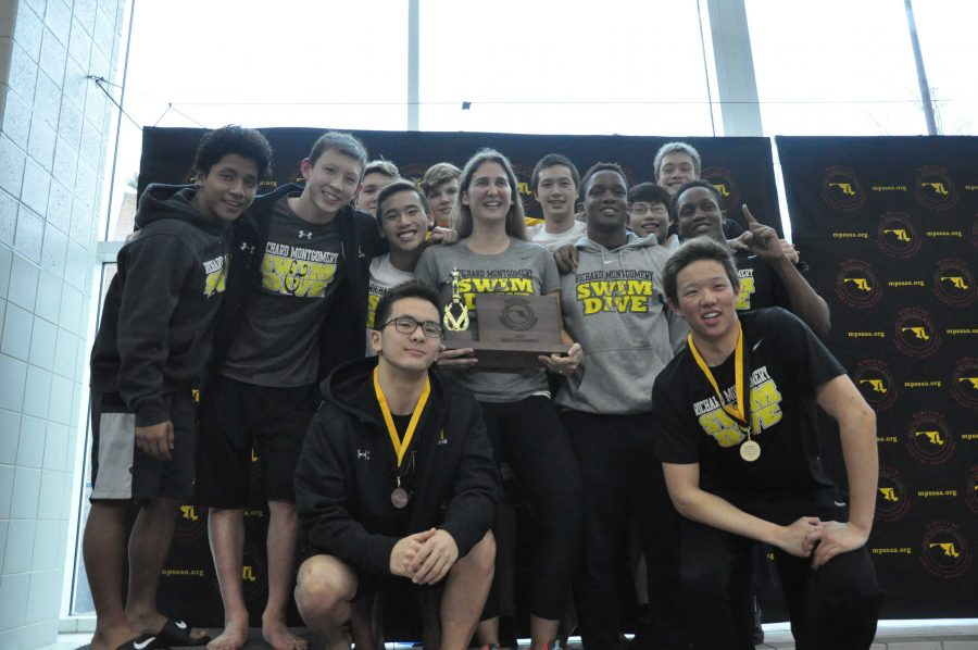 RM boys swim and dive team take home state title, breaking three state records along the way