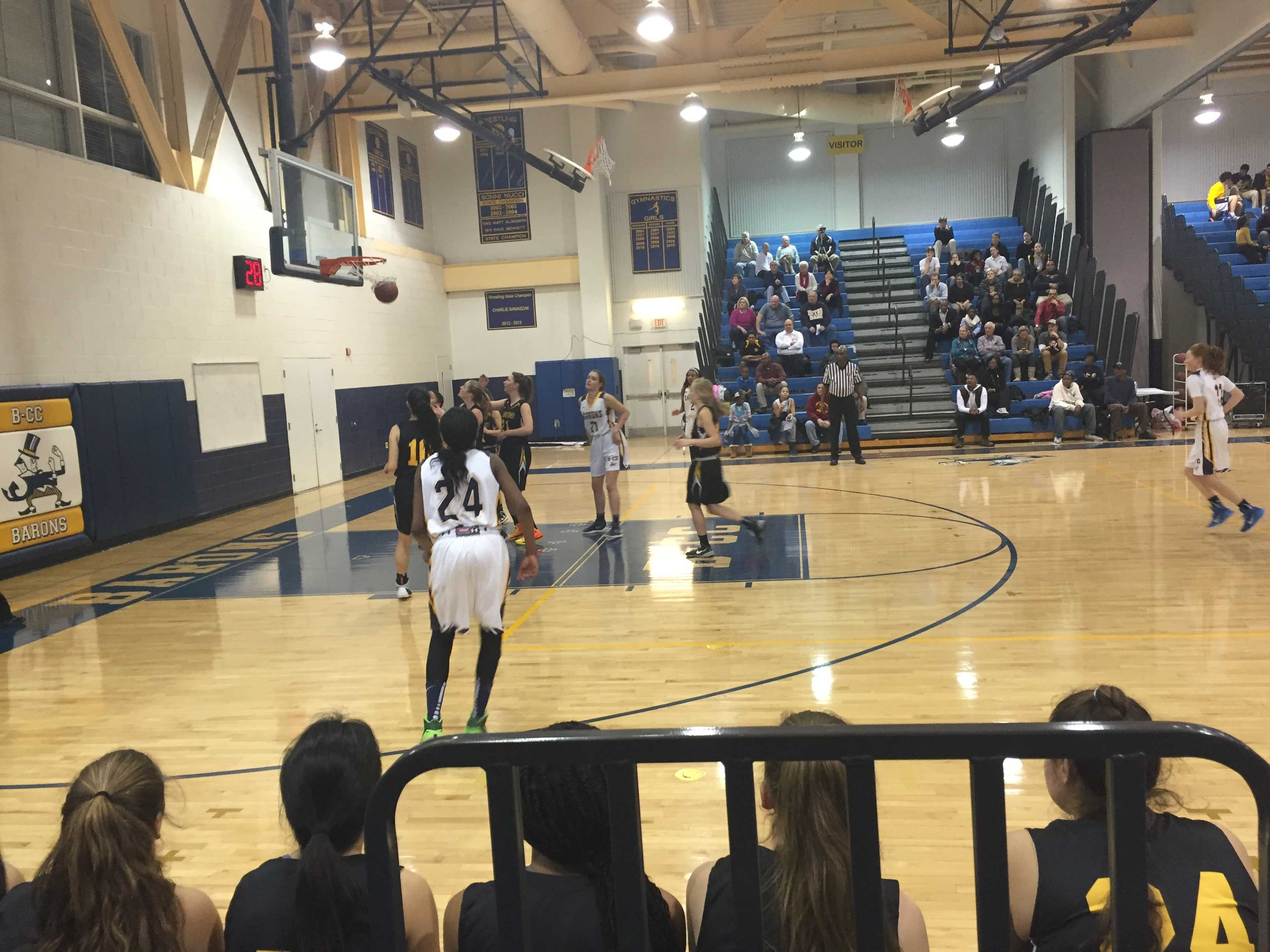 RM girls basketball team comes up short against B-CC in first round of playoffs, look forward to next season