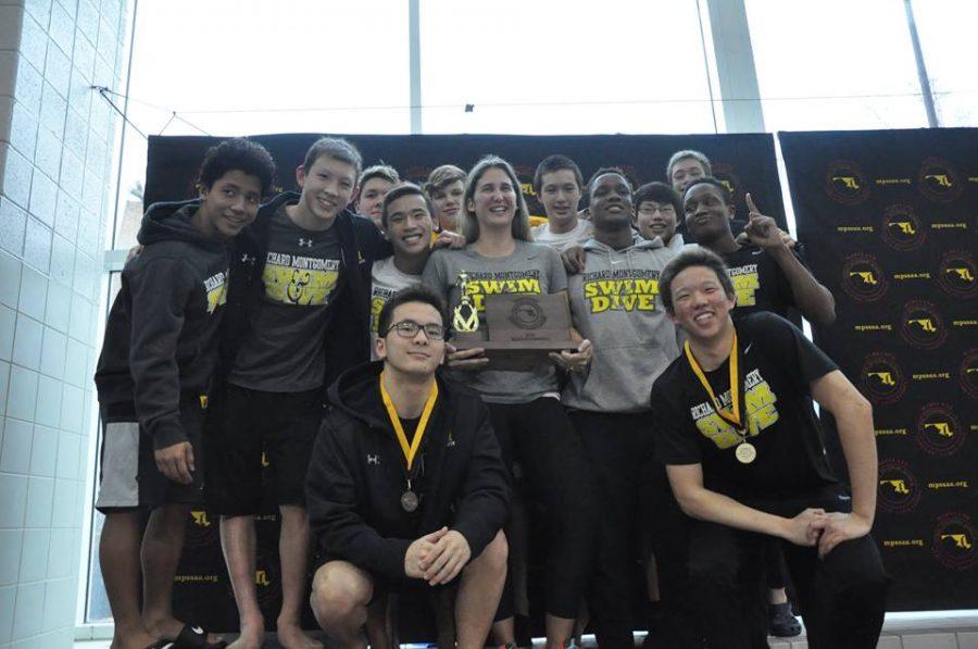 Photo Gallery: Swim & Dive State Championship Meet Podium Photos