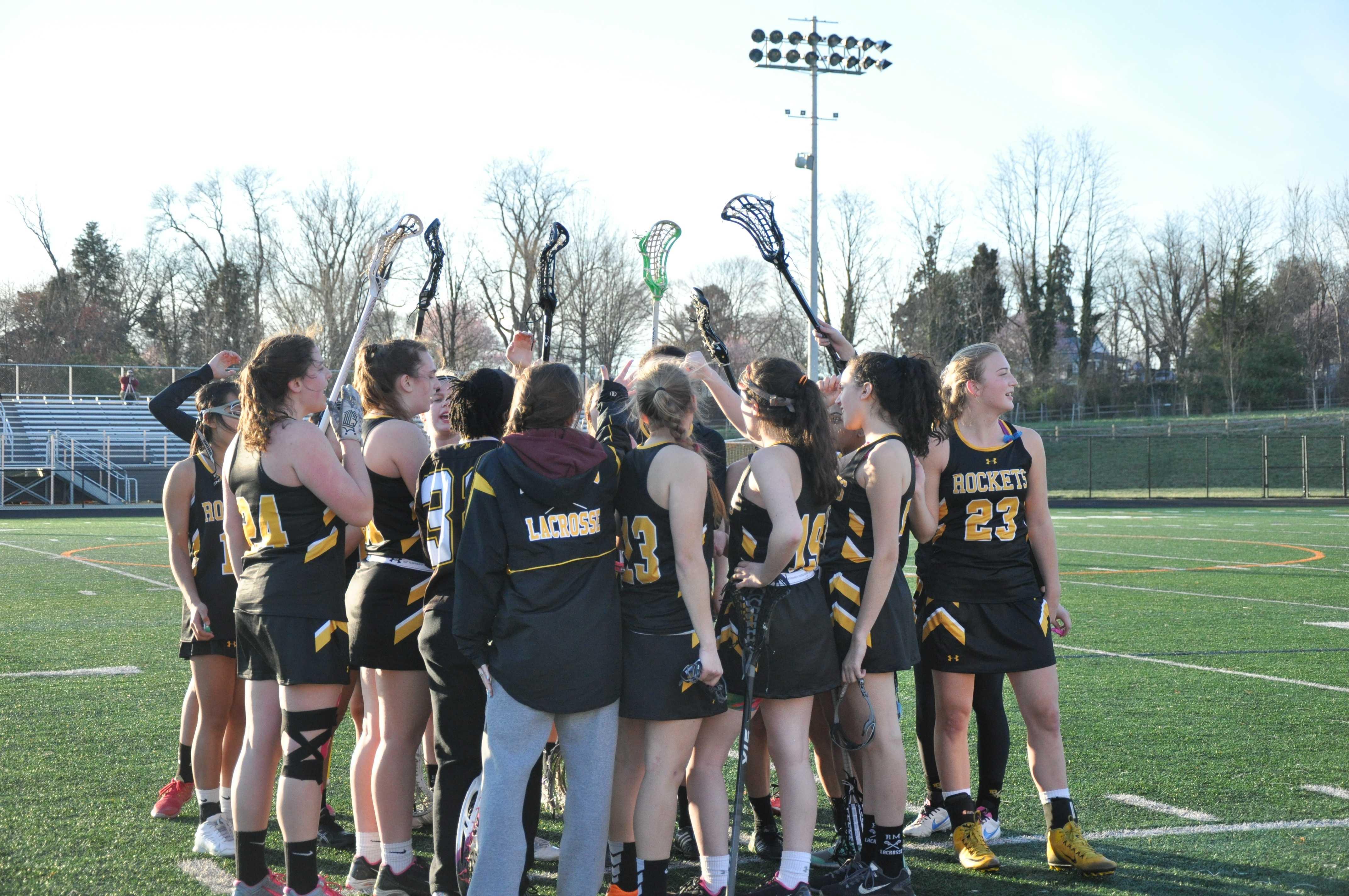 RM girls varsity lacrosse team falls short in game against Gaithersburg High School