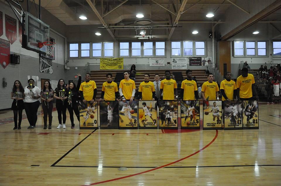 Photo Gallery: Boys Varsity Basketball Senior Night