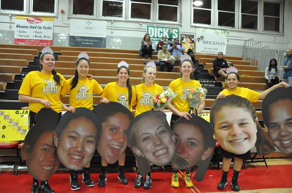 Photo Gallery: Girls Varsity Basketball Senior Night