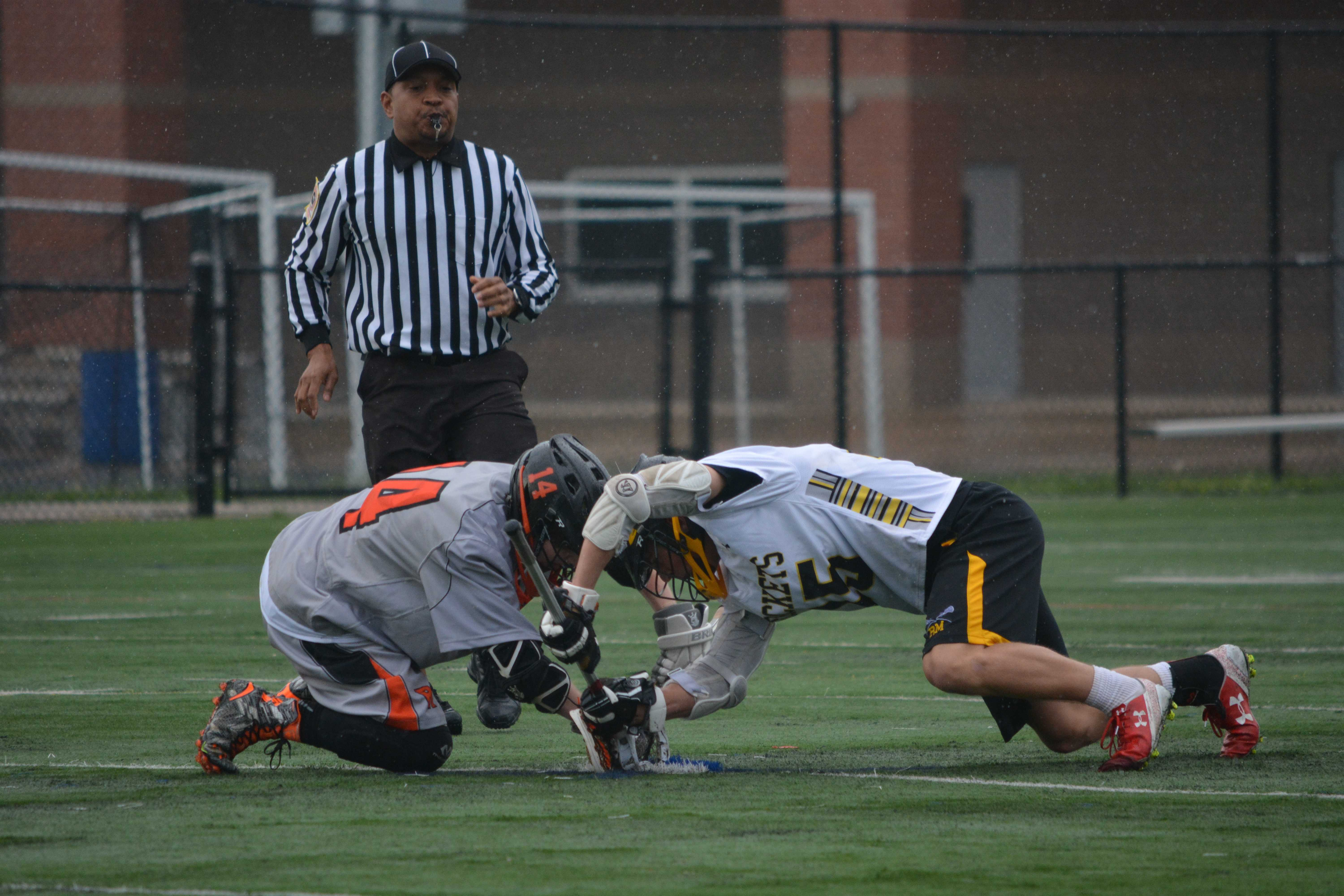 RM Boys Lacrosse take a rough senior night loss to rival Rockville