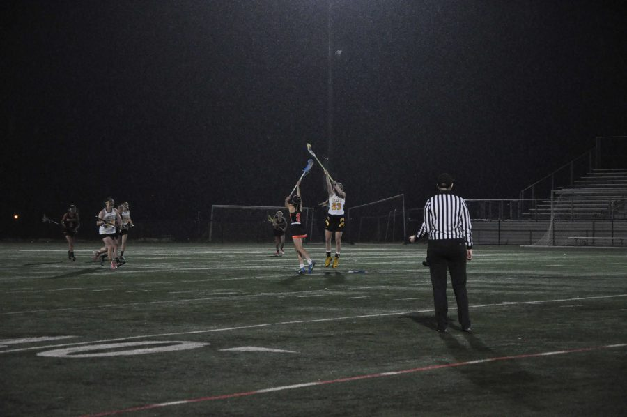 RM girls varsity lacrosse defeat cross town rival Rockville in senior night victory