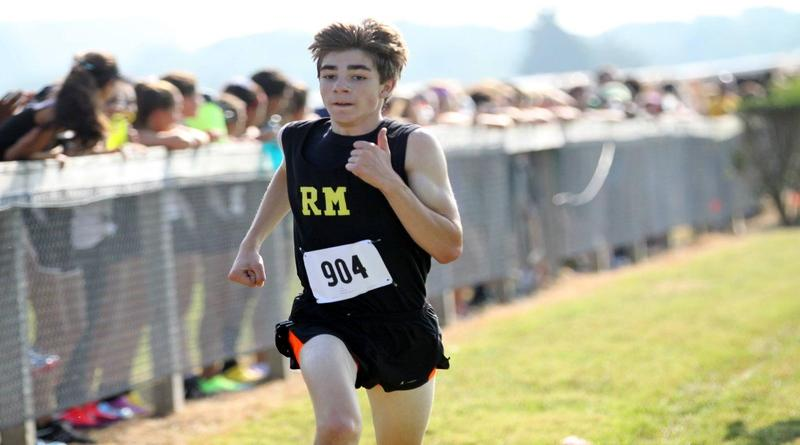 Richard Montgomery Cross Country competes tactically against Quince Orchard