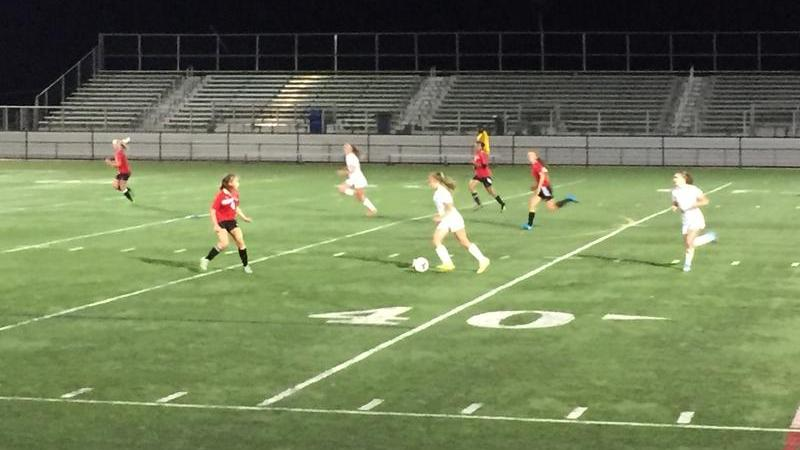 Girls soccer defeats rivals Blair 3-1