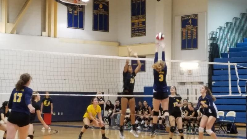 RM girls volleyball falls to B-CC in second playoff game to end season 11-5