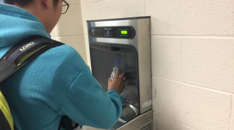 "SERT looks to ""Ban the Bottle,"" installs new eco-friendly water fountains"
