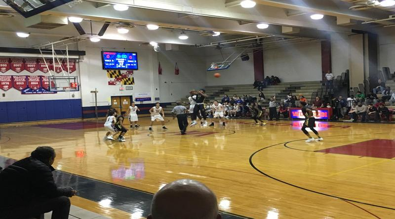 Rockets boys basketball come out over Patriots 56-47 in their first game since break