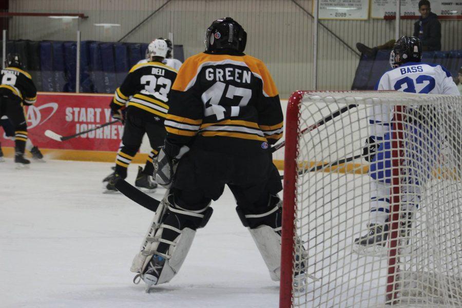 RM ice hockey falls 2-4 to B-CC
