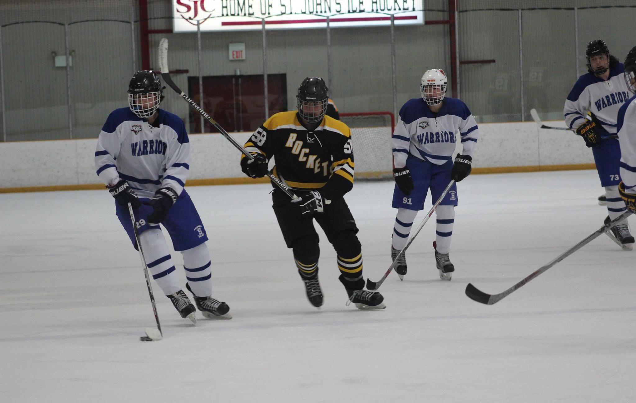 Photo Gallery: RM Ice Hockey v. Sherwood