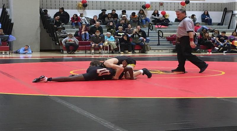 RM's wrestling season ends in close losses at Wheaton trimeet