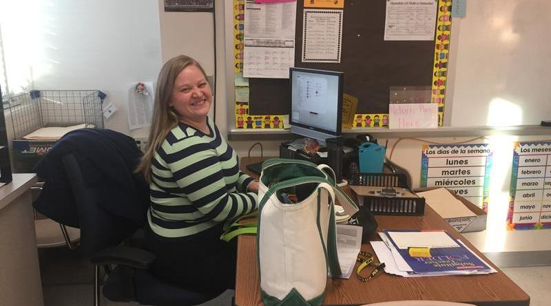 Mrs. Hodges brings her love for teaching into her Spanish classroom and the Model UN club