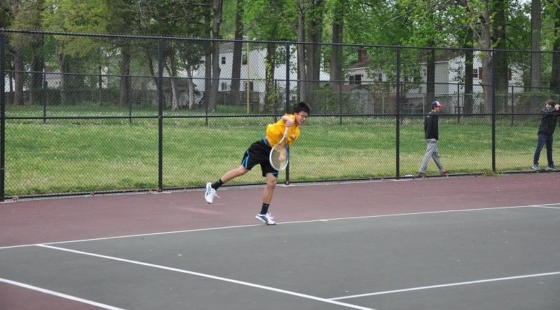 Boys tennis starts off strong with a win over Poolesville