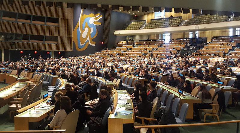 RM juniors attend UNIS-UN conference
