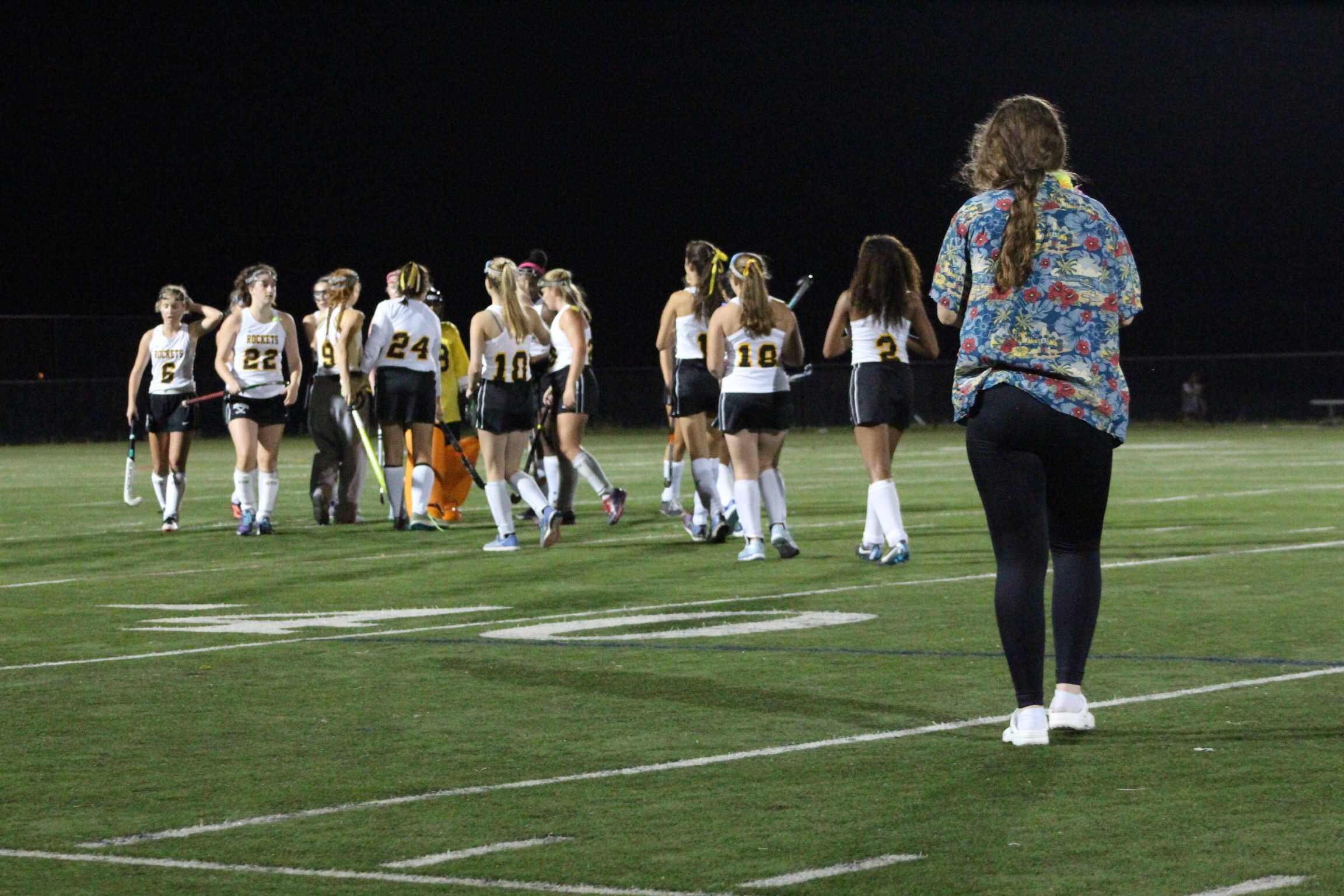 Field Hockey tops Rockville in overtime thriller