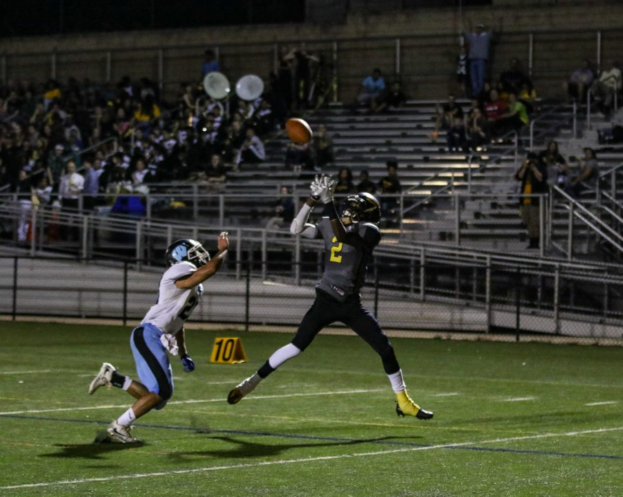 RM football crushes rival Rockville 49-8