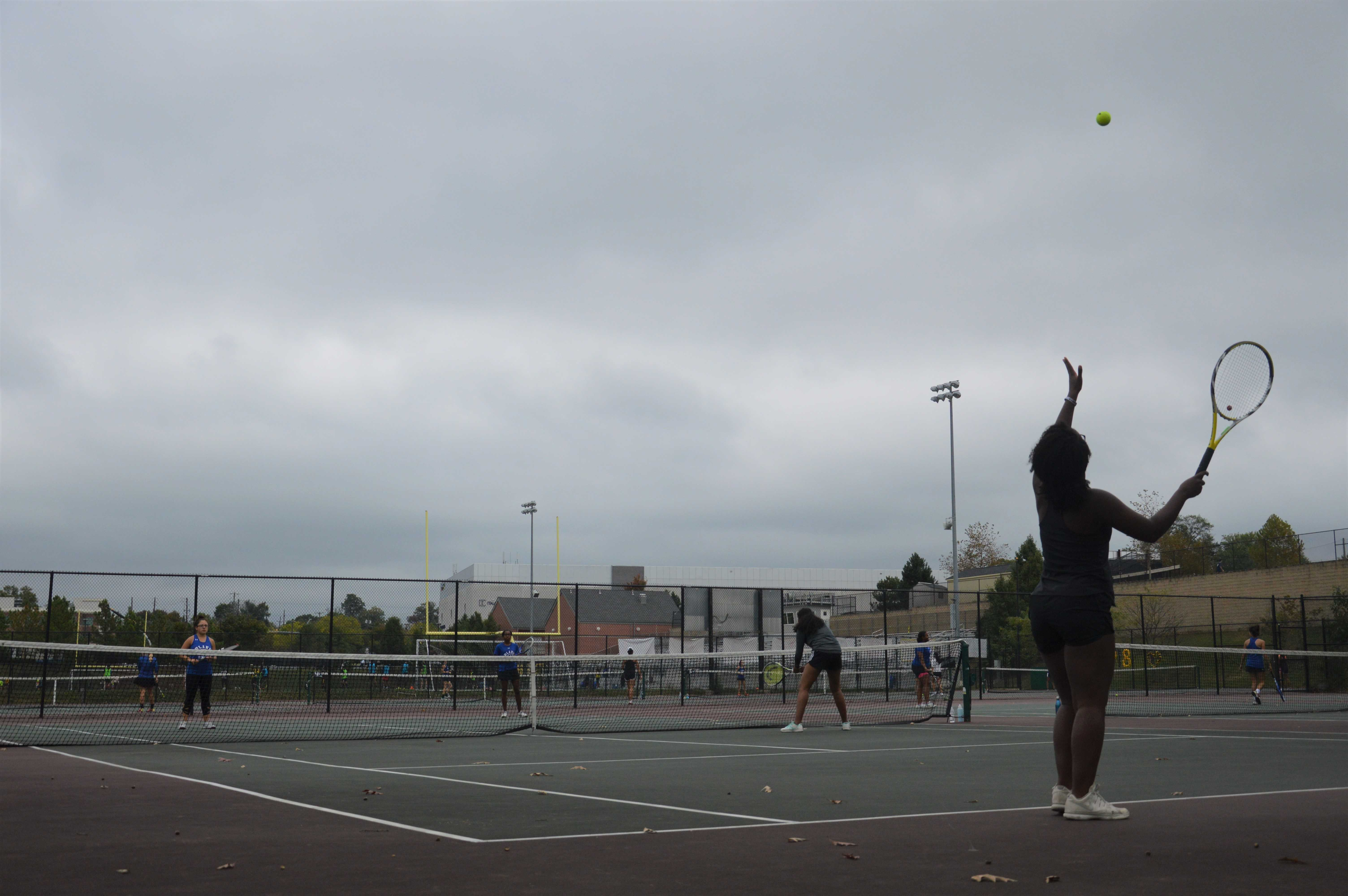 Girls tennis ends on high note, secures third place in the county