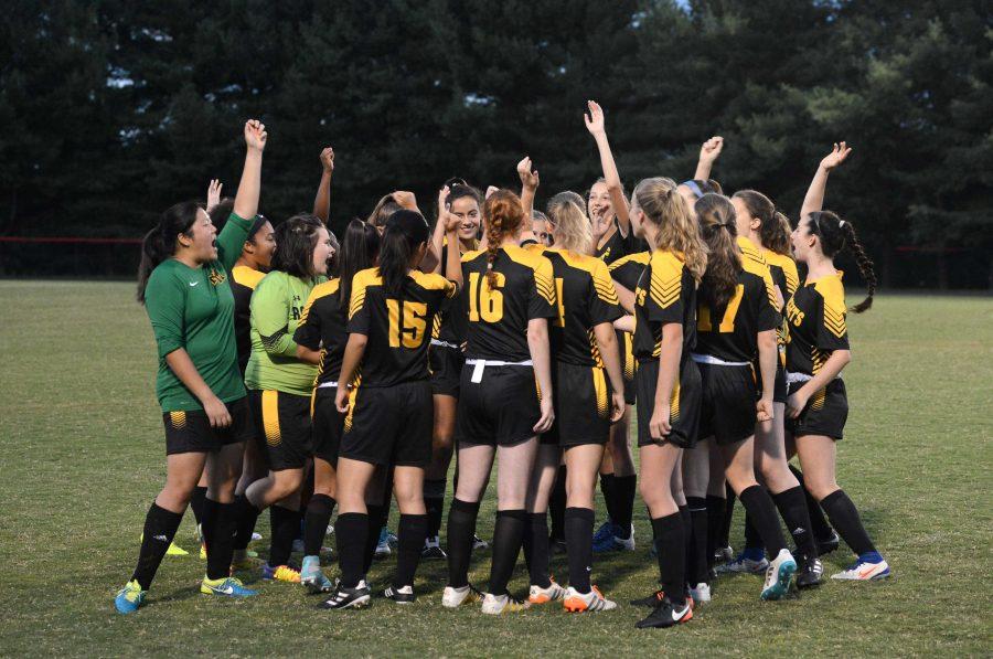 Girls Soccer takes 2-0 senior night win over Gaithersburg