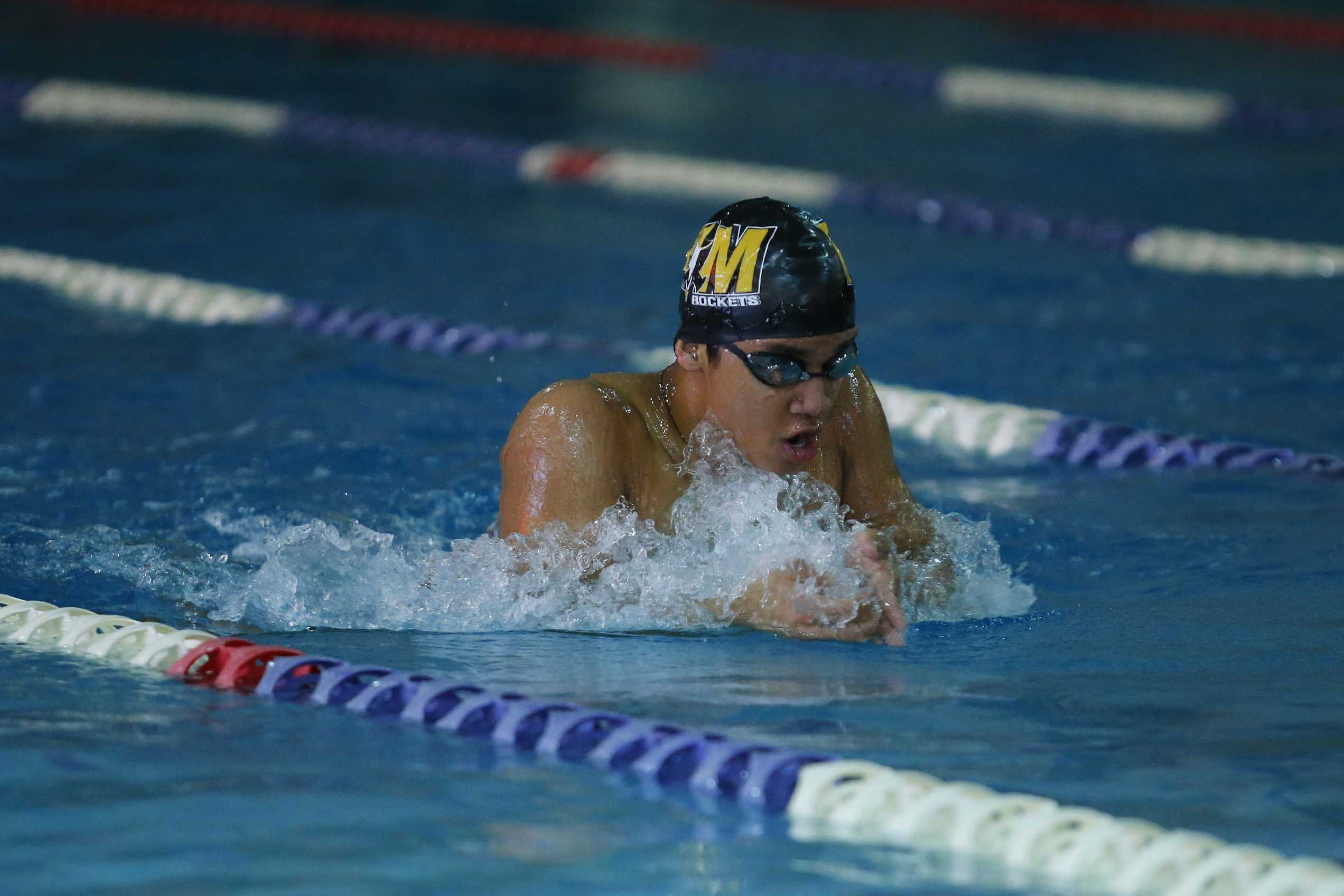Swim narrowly edges out Poolesville in their first meet