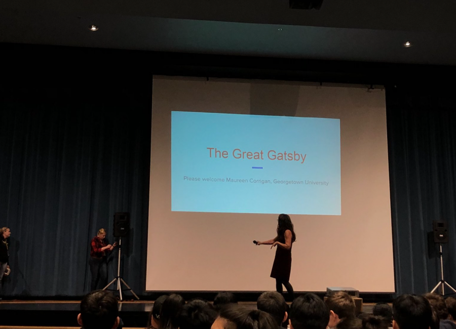 Notable+professor+discusses+The+Great+Gatsby