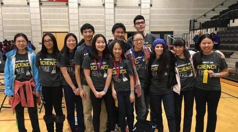 Science Olympiad team wins fourth place at regionals