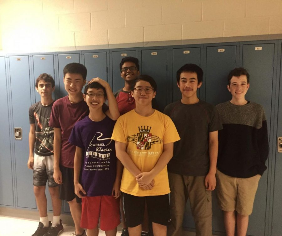 Quizbowl+team+members+won+their+first+tournament+of+the+year+on+Sept.+22.