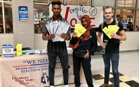 Voter registration drives arrive at Montgomery County high schools