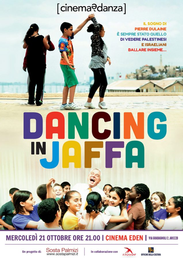RM+students+view+%22Dancing+in+Jaffa%22+at+the+first+meeting+of+the+International+Film+Club.