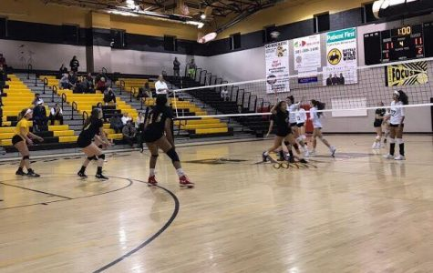 RM girls volleyball falls to Walter Johnson in close game