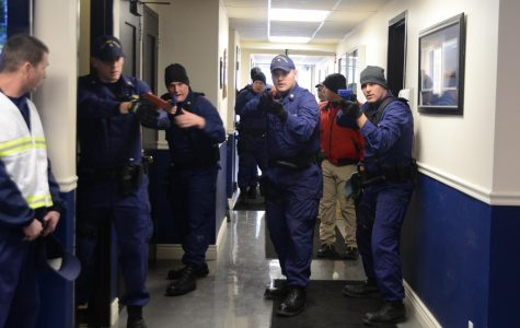 An active shooter drill occurs in Buffalo, New York.