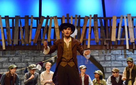 Junior Tudor Postolache takes to the stage as Fagin in