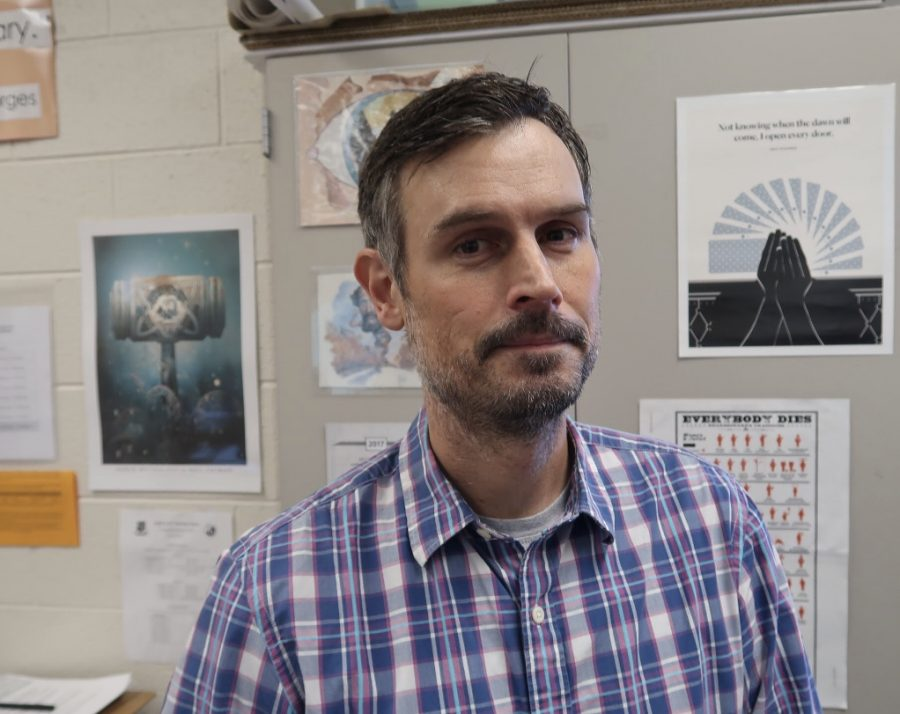 Mr. Koenig was one of the 16 participants in No-Shave November.
